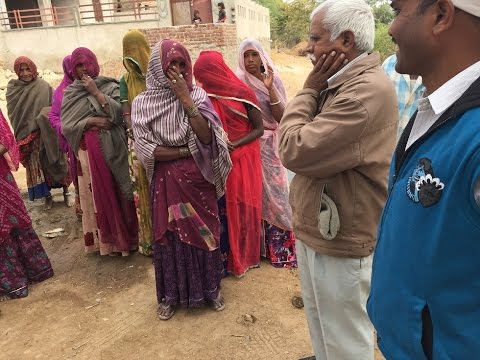Wells for India trustees visit 2016