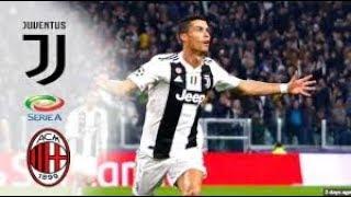 Juventus vs AC Milan 1-0 Supercoppa Italiana Cristiano Ronaldo Goal HD 2019