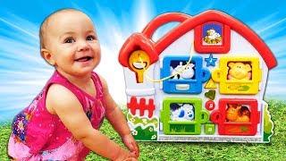Животные для малышей с Мартой - развивающие Дада игрушки