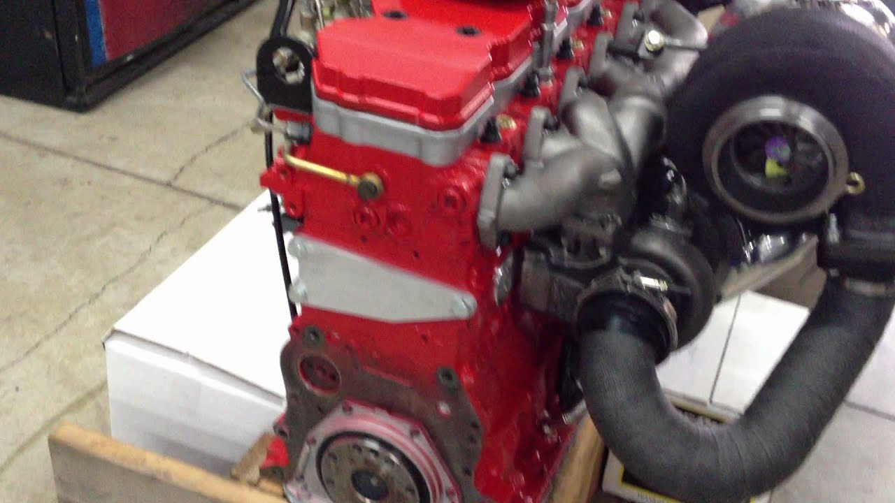 Cummins Performance Crate Engine by Industrial Injection