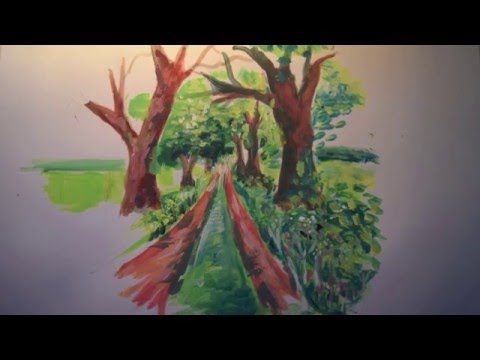 Tutorial: Painting in the style of David Hockney