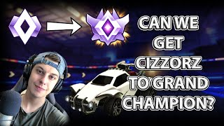 Can We Get Cizzorz to Grand Champion? 2v2 with Faze Cizzorz