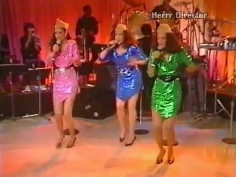 Sister Sledge - Andrew Sisters medley (live at the Roxy '84) part 5