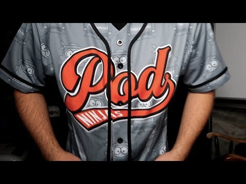 Shopify Print On Demand Baseball Jersey | Subliminator Product Review thumbnail