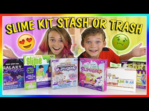 "SLIME KITS ""STASH OR TRASH"" 