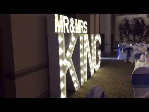 Mr & Mrs KIng @ Bedford Lodge Hotel & Spa, Newmarket