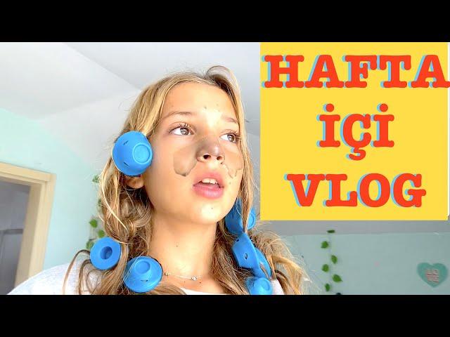 Hafta İçi Vlog. Ecrin Su Çoban
