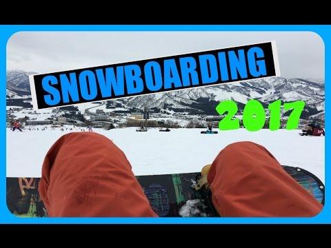 SNOWBOARDING in Niigata Japan!  [Vlog] || JapandaJess