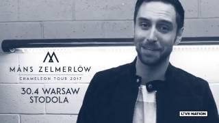 Måns Zelmerlöw zagra w Warszawie