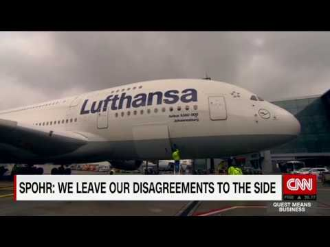 Lufthansa CEO on Progress in the Airline Industry