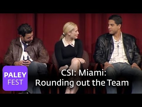 CSI: Miami - Rounding out the Team (Paley Center)