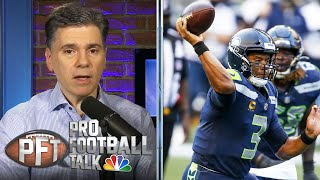 Russell Wilson cooks in Seahawks' win over Cam Newton, Patriots | Pro Football Talk | NBC Sports