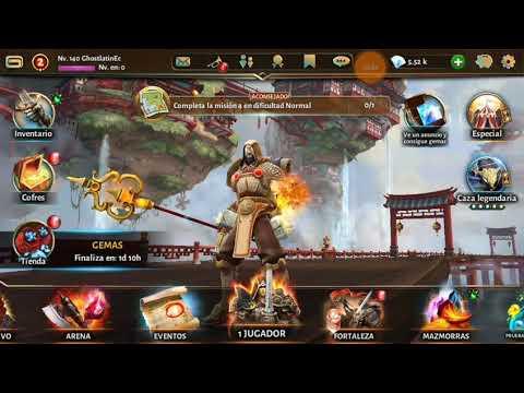 Dungeon Hunter 5 (Información De Clan) Android Y Migración De Cuenta