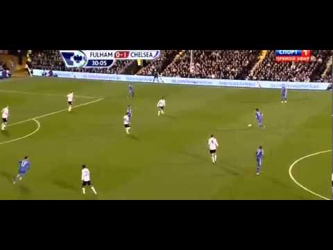 Fulham 0-3 Chelsea | David Luiz Amazing Goal || 17.04.2013