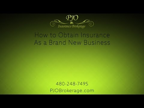 How To Obtain Insurance As A Brand New Business | PJO Brokerage