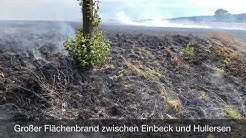 Flächenbrand bei Einbeck