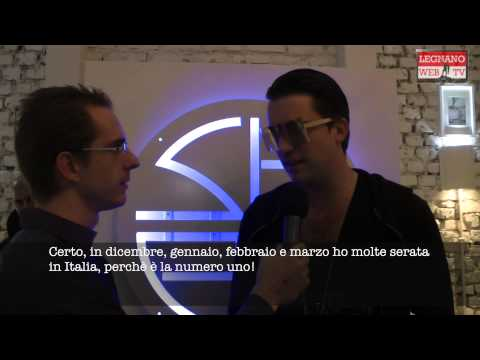 Interview with DJ Antoine @ Shed Club, Busto Arsizio (Italy)