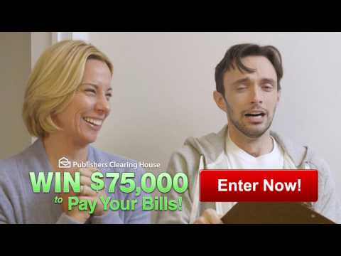 "PCH's ""Pay Your Bills"" Sweepstakes - YouTube"