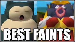FULL BEST POKEMON FAINTING ANIMATIONS TEAM!
