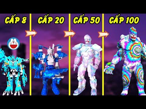 GTA 5 | Tôi lại tiến hóa Đôrêmon đến cấp 100 siêu Robot ánh sáng thần thánh ra sao | GHTG