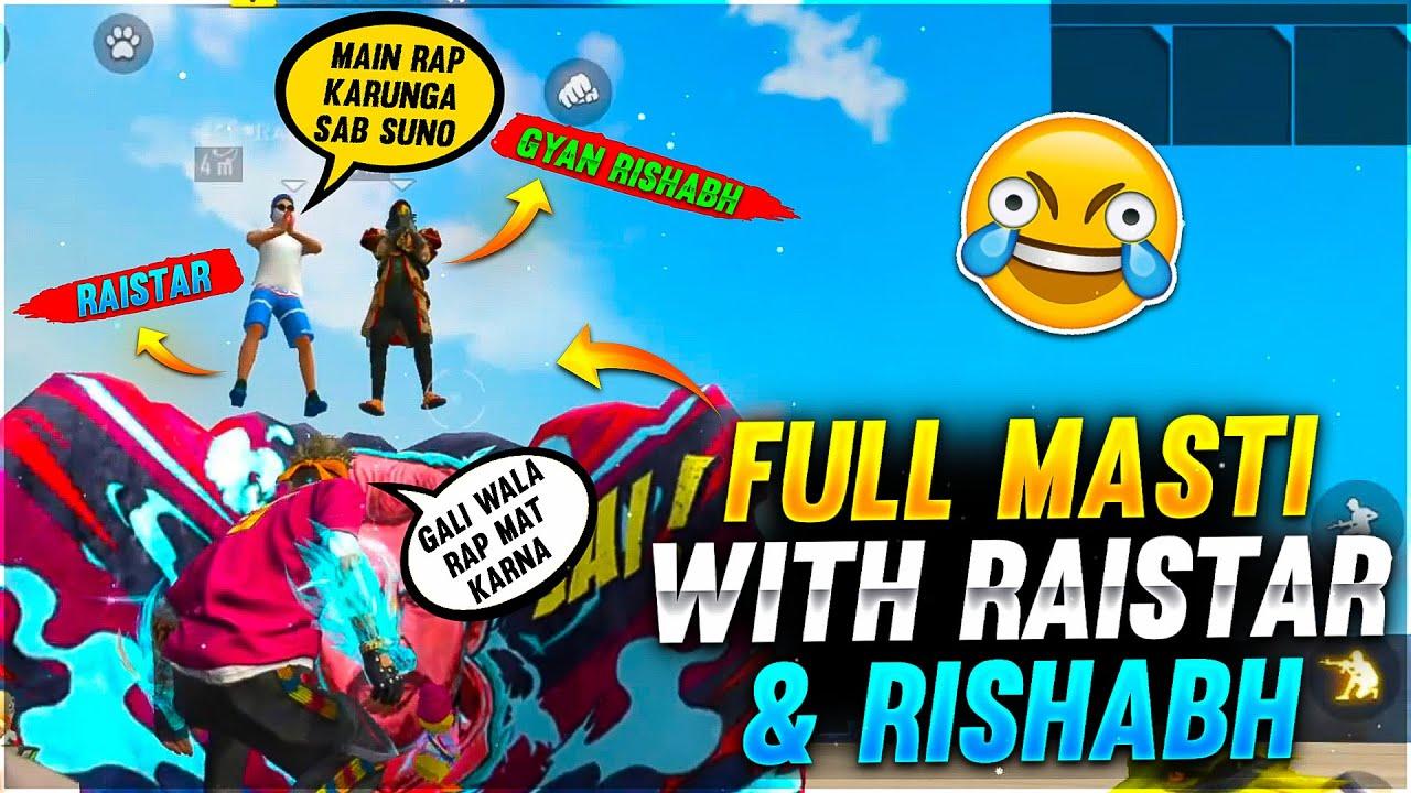 Full Masti With Raistar & Rishabh Must Watch