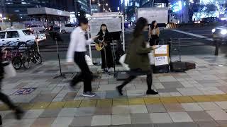 久野はる菜 #名駅路上ライブ #井上苑子 #せかいでいちばん.