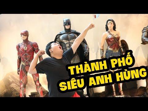 THÀNH PHỐ SIÊU ANH HÙNG !!!! MAZK IN SINGAPORE EP 1