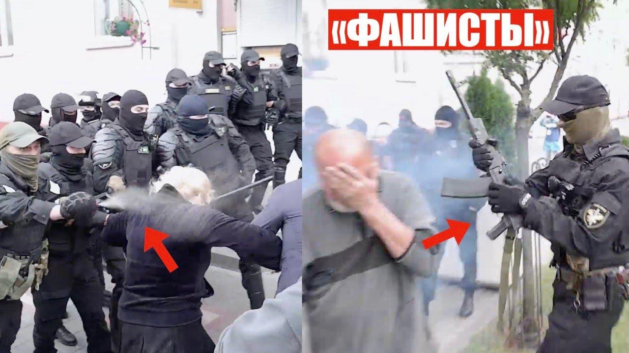 В Гродно отбили своего | Жесткие столкновения против ОМОНа c газом и взрывами в Гомеле