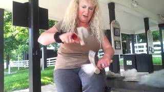 Combing Wool the Right Way tutorial with Susan McFarland
