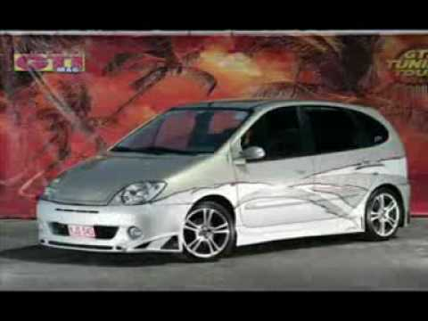 renault scenic 1998 2007 tuning youtube. Black Bedroom Furniture Sets. Home Design Ideas