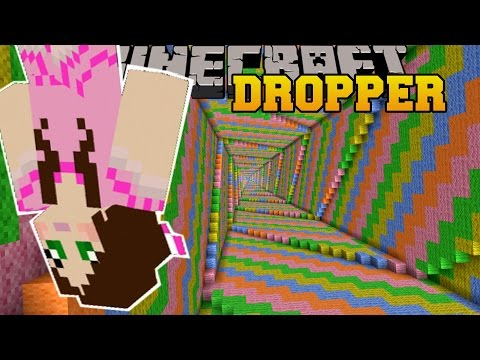 Thumbnail: Minecraft: - ULTIMATE DROPPER!!! - THE DROPPER - Custom Map [1]