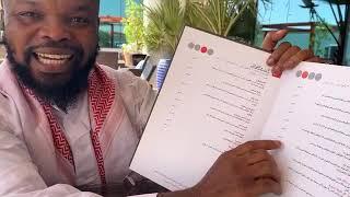 ALHAJI MUSA IN DUBAI RESTAURANT (Nedu Wazobia Fm)