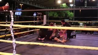 Tramaine Lewis vs Jake Junge Pandemonium 9 fights Sweatshop gym and mma