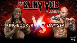 WWE - Booker vs Batista