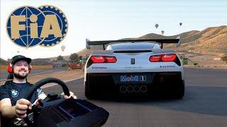 Чемпионат Мира FIA на Корвете! Willow Springs в Gran Turismo Sport