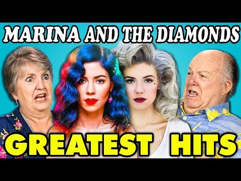 ELDERS READ MARINA AND THE DIAMOND'S HIT SONGS (React)