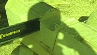 Рубка в Лафет (норвежская рубка) 2(Срубы из Псковской области:Чаша, Канадка, Норвежская рубка, Лафет. http://domlafet.ru http://vk.com/domlafet Russia log cabin, Russia log house., 2012-05-20T15:11:16.000Z)
