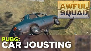 AWFUL SQUAD: Car Jousting w/ Griffin, Pat, Justin and Russ (and more!)