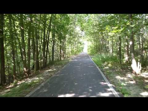 Rail to Trail Path, Tecumseh, Michigan