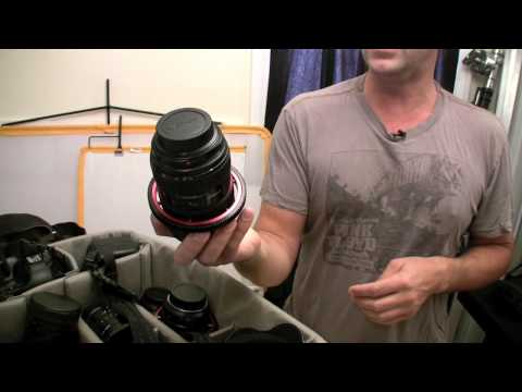 What's In The Bag w/Chris Weeks, Freelance Photographer Part 1