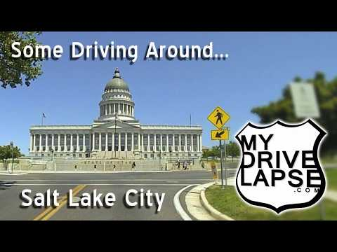 A Drive Around Salt Lake City, Utah
