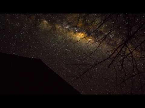 Beautiful Africa shots Milkyway Time-lapse HD
