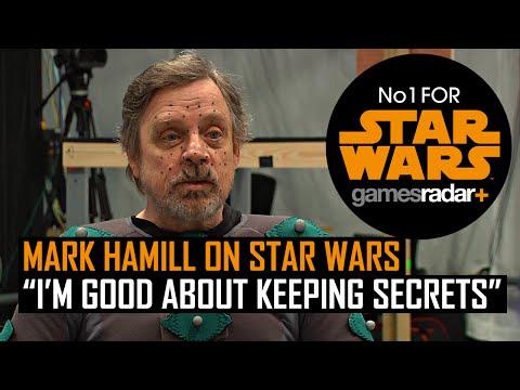 "Mark Hamill on Star Wars - ""I'm good about keeping Secrets"""