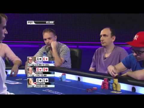 Luckiest poker player ever! Part 1of2