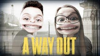 """""""Zamknęli nas w więzieniu"""" #1 A Way Out z KOSmo"""