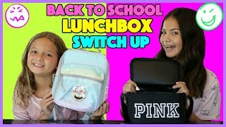 BACK TO SCHOOL LUNCHBOX SWITCH UP CHALLENGE | SISTER FOREVER