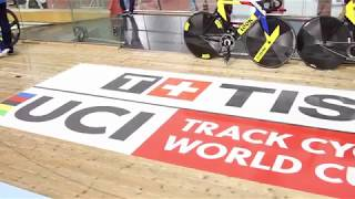 Превью к V этапу Кубка мира по велоспорту треку в Минске