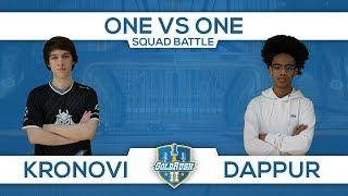 Kronovi vs Dappur (SQUAD Battles 1v1 @ #GoldRush2)