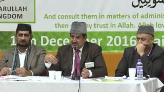 Majlis Ansarullah UK Shura 2016 Urdu News