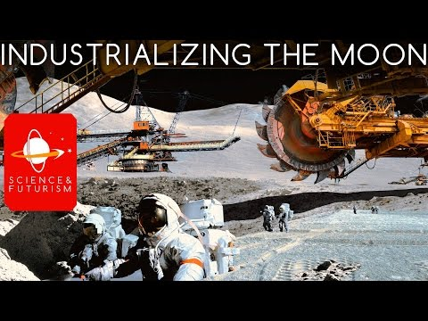 Industrializing the Moon
